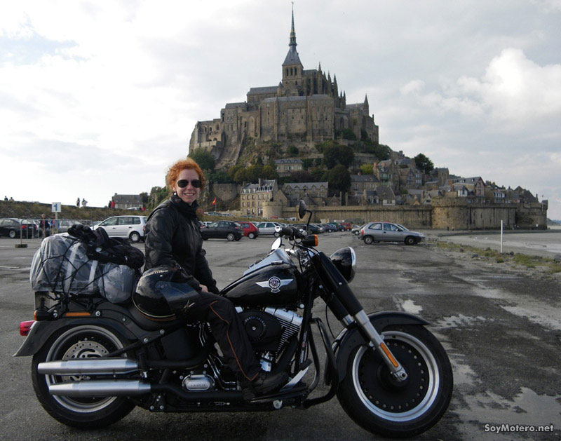 Celi Alonso - organizadora del I Ladies of Harley España