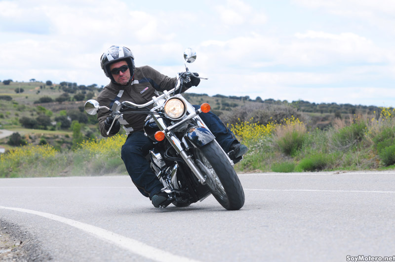 Prueba Honda Shadow 750 C - manejable