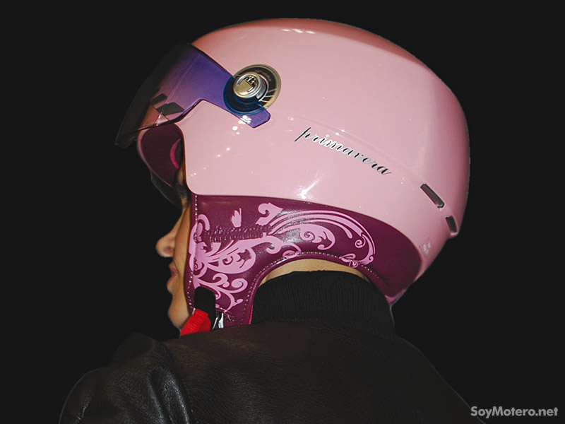 casco Primavera NZI by Hess Design - color rosa
