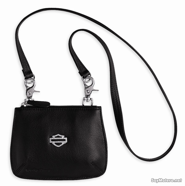 bolso Harley-Davidson Crystal Bar & Shield Hip Bag