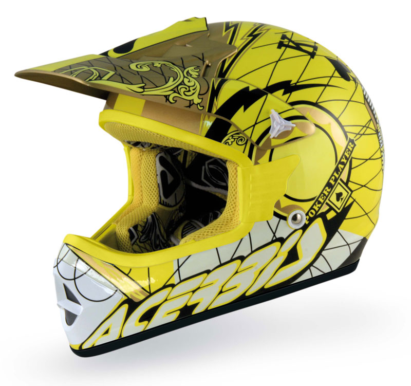 casco off-road Acerbis MX Poker