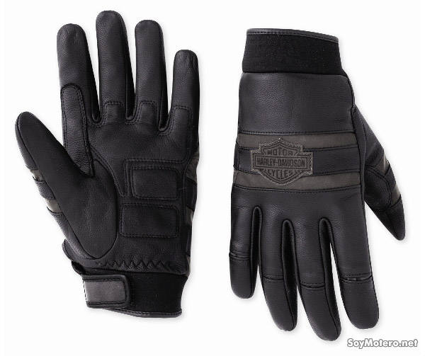 Guantes de cuero Harley-Davidson Illumination Leather Full-Finger Gloves