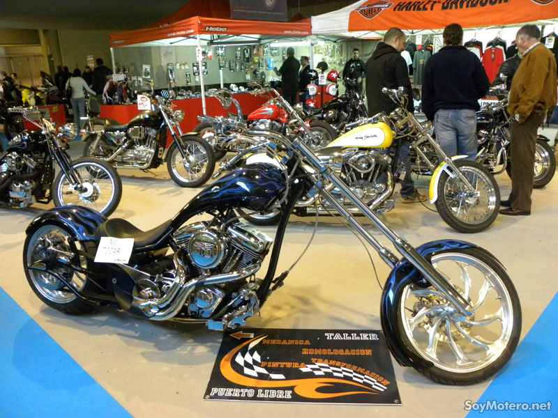 Exposición motos custom