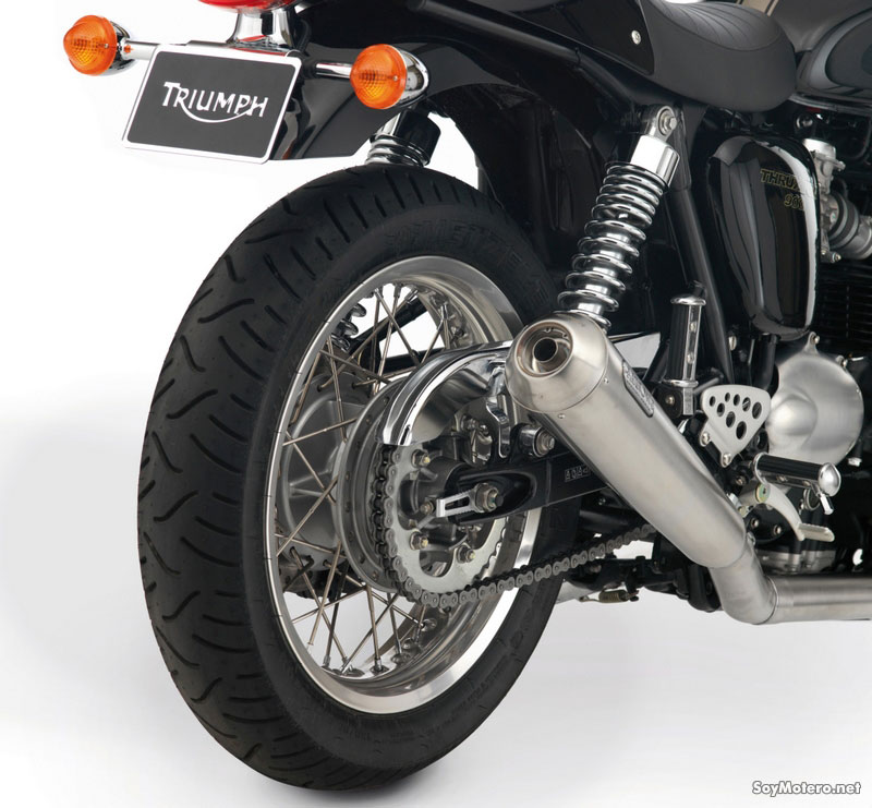 Accesorios para Tu Triumph Bonneville - Escape Arrow