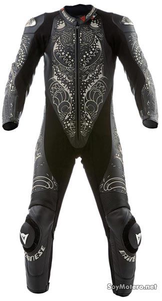 Vistas frontal del mono Dainese Dainese Tattoo Ykz. limited Edition