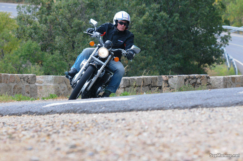 Prueba Honda Shadow VT750S - custom en estado puro