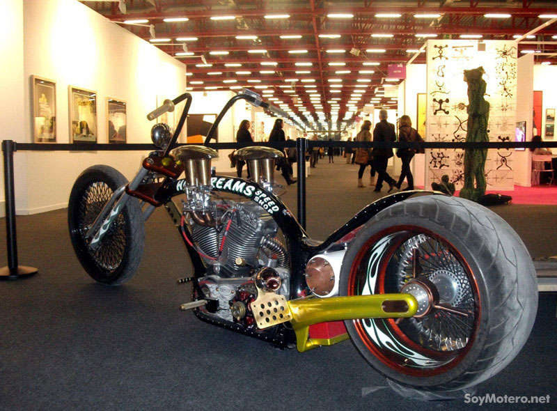 Harley-Davidson Ramera, customización de Ferry Clot, Art MAdrid'11