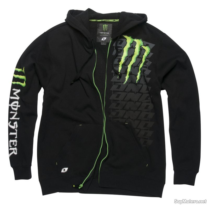 Sudadera Monster Energy Spotty