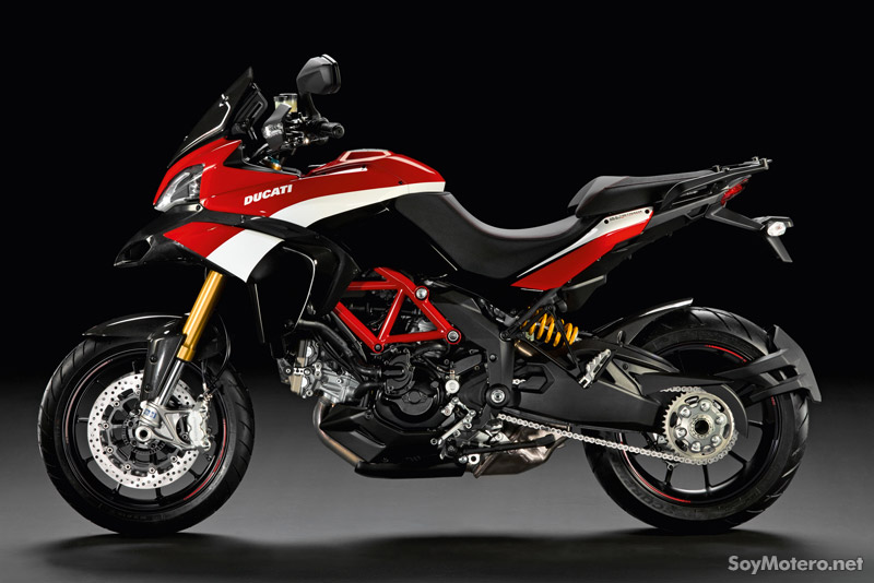 Multistrada 1200 S Pikes Peak Special Edition, vista lateral
