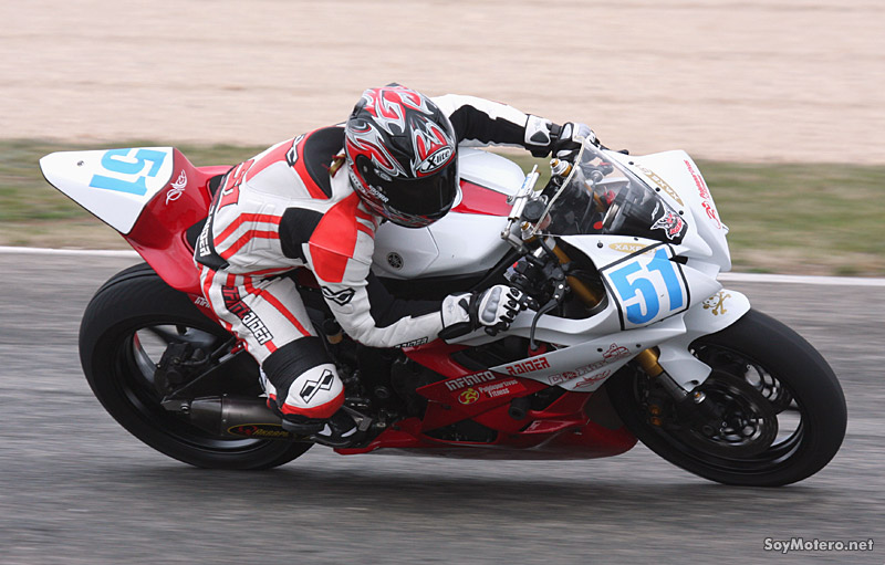 Álvaro Sánchez, pole Supersport CLM, Albacete 2011