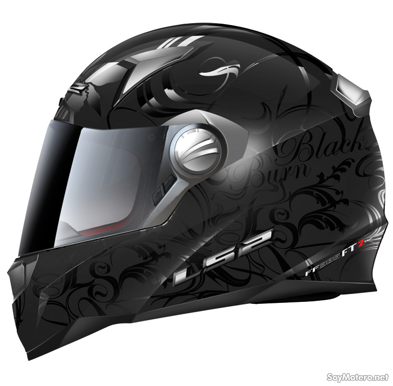 Casco integral FF385 Burn de LS2