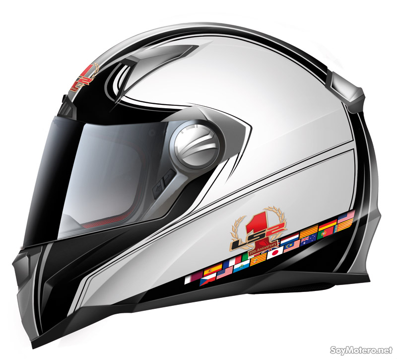 Casco integral FF385 Anthology de LS2