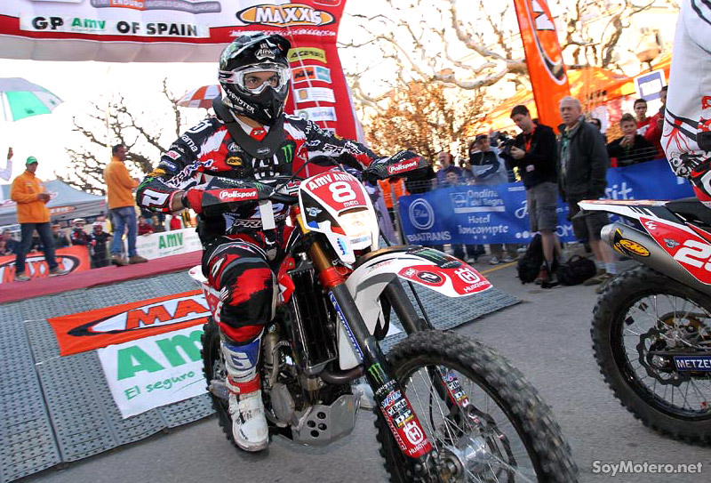 Antonie Meo, Enduro Ponts 2011