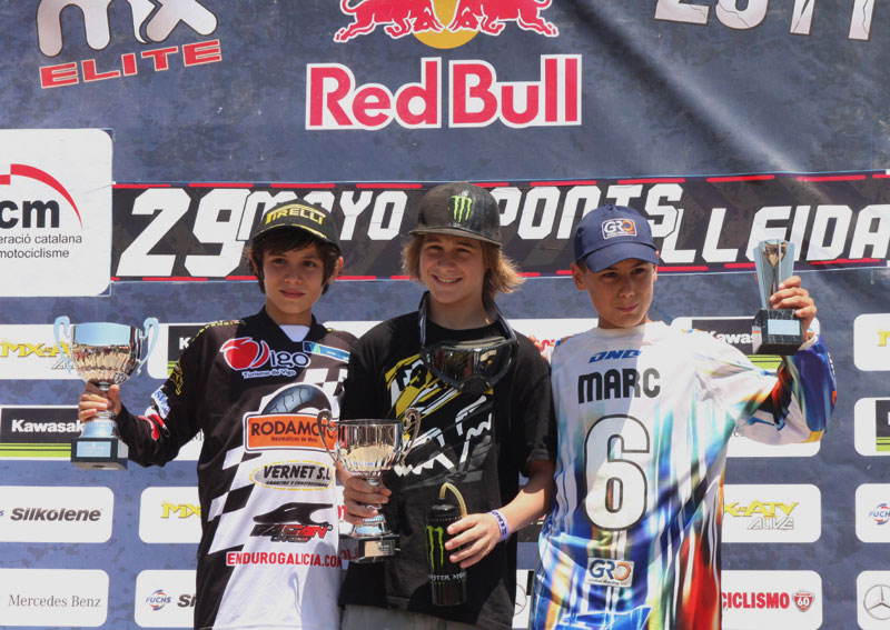 Podio MX Promesas Ponts 2011