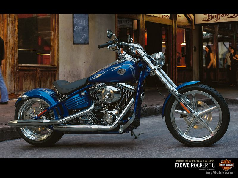 Harley Davidson Rocker™ C - Pacific Blue Pearl