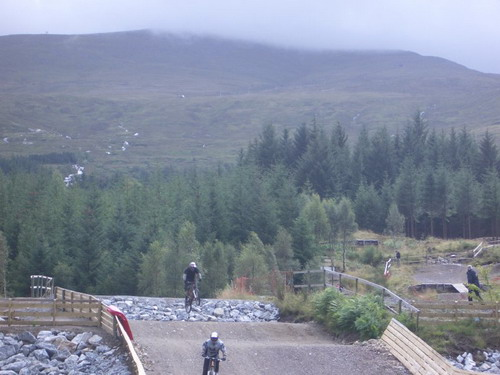 Mountain bike Ben Nevis