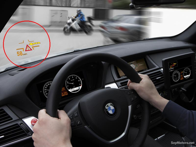 sistema de alerta ConnectedDrive de BMW