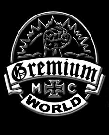 Logotipo de la banda motera Gremium Motorcycle Club