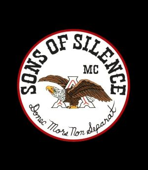Logotipo de la banda motera Sons of Silence