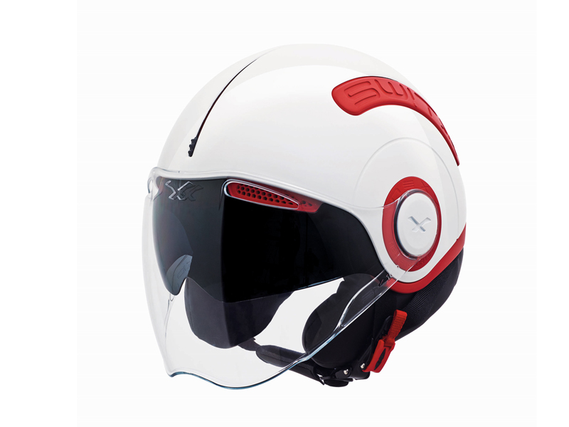 Casco NEXX Switx SX.10 rojo y blanco