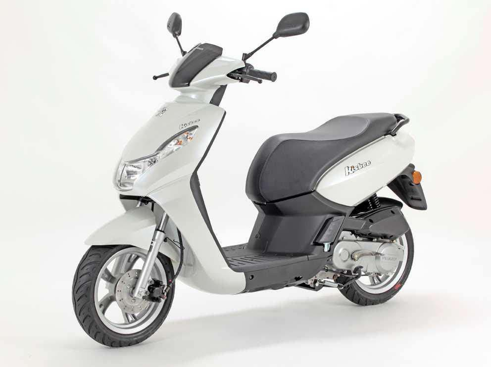 peugeot scooter kisbee 50 4t blanco. Black Bedroom Furniture Sets. Home Design Ideas