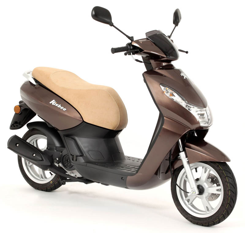 peugeot scooter kisbee 50 4t color chocolate. Black Bedroom Furniture Sets. Home Design Ideas