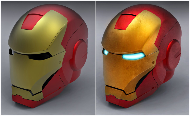 casco iron man friki pero con estilo motos cascos de moto. Black Bedroom Furniture Sets. Home Design Ideas