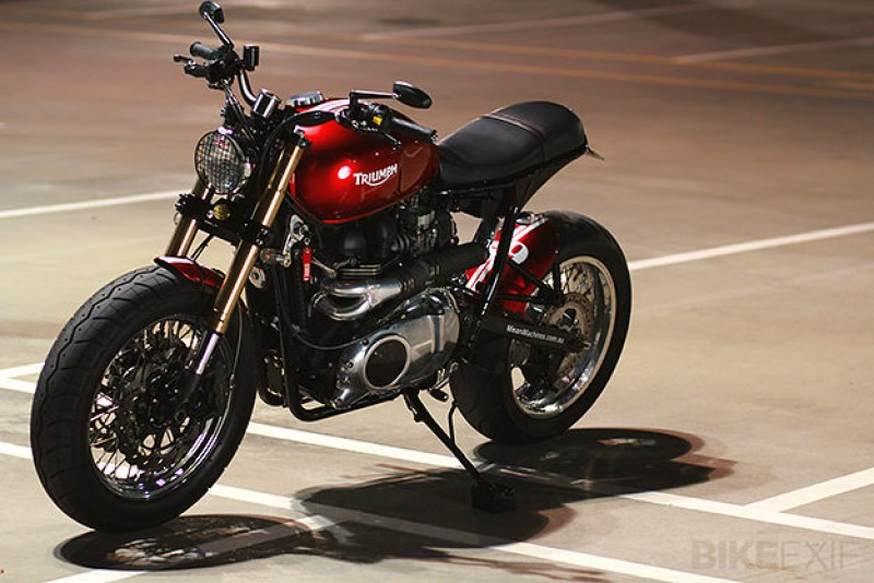 "Triumph Bonneville ""Mad Max"" del preparador australiano Mean Machines"