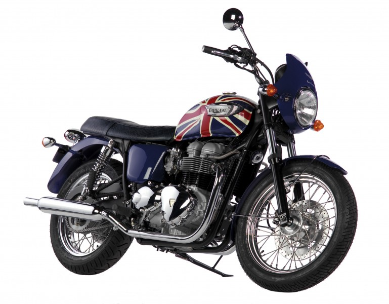Paul Smith decoró una edición limitada de la Triumph Bonneville en 2006