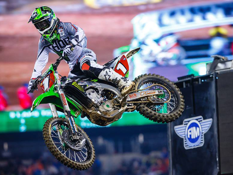 Ryan Villopoto, en el AMA Supercross 2014.