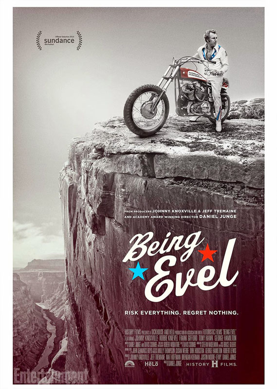 Being Evel es el documental que recoge la vida de Evel Knievel