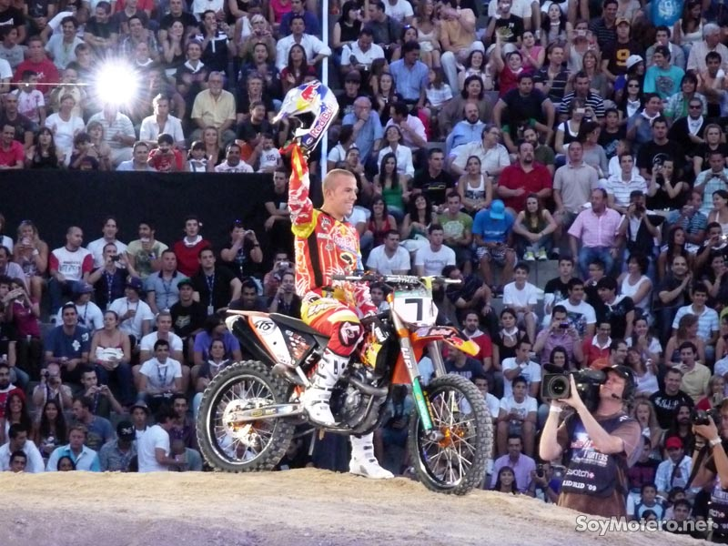 Red Bull X-Fighters Madrid 2009 - Jonathan Barragán