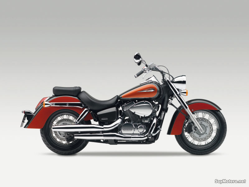 Honda Shadow 750 - orange