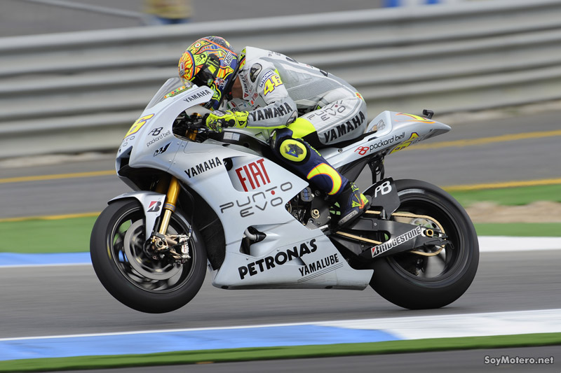 Valentino Rossi - primeros libres GP Portugal 2009, Estoril