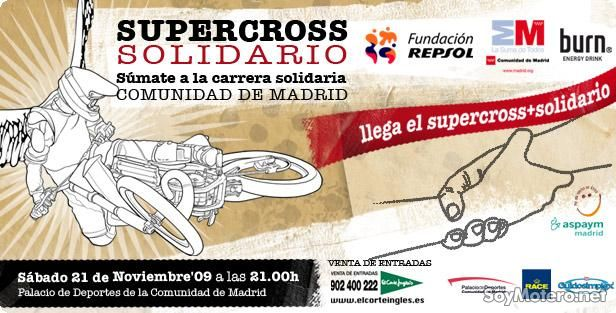 Supercross Solidario Comunidad de Madrid 2009