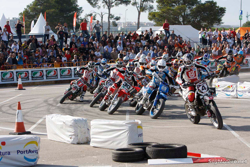 Supermotard Salou, GP Cataluña 2009