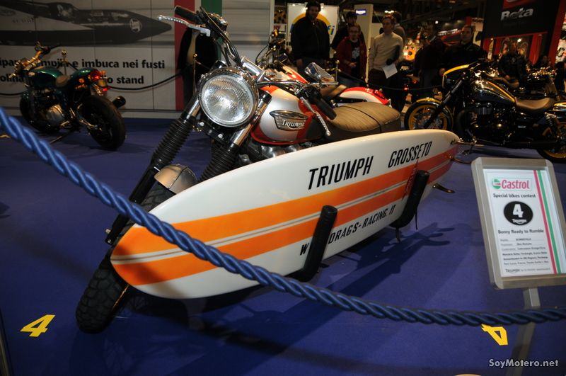 Triumph Bonneville - Bonny Ready to Rumble