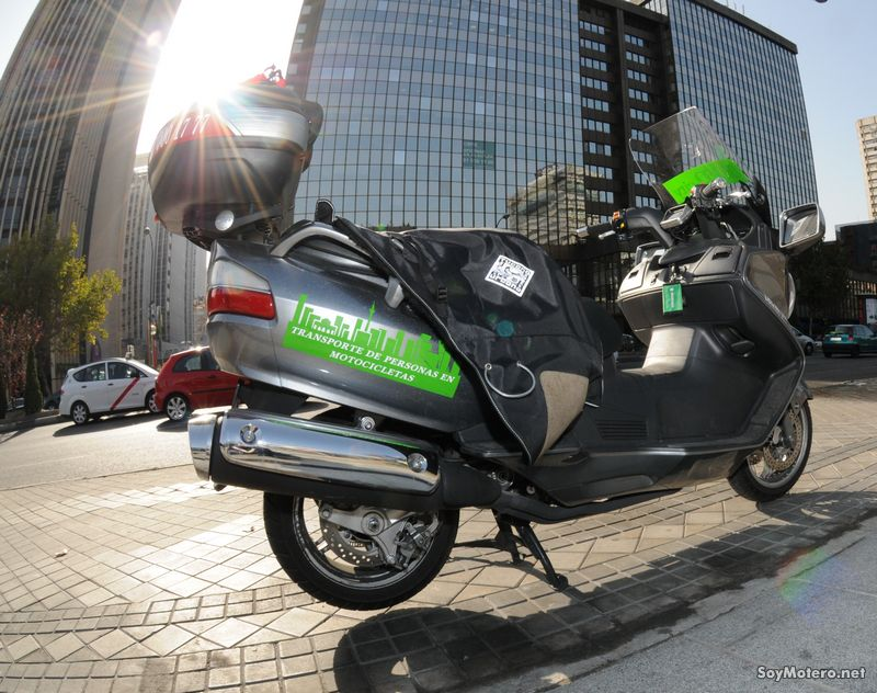 Moto-City - La alternativa al taxi sin atascos