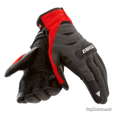 Guante Dainese Air Tex - Rojo volcán