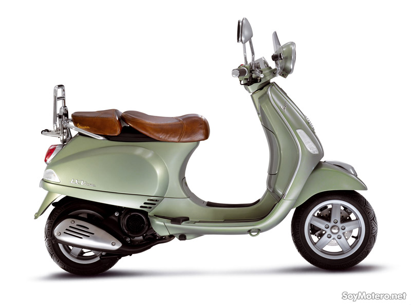 Vespa LXV 125ie - vista lateral
