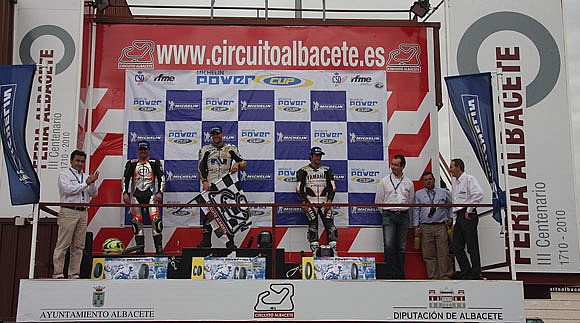 podio 1.000cc Michelin Power Cup 2009 - Circuito de Albacete