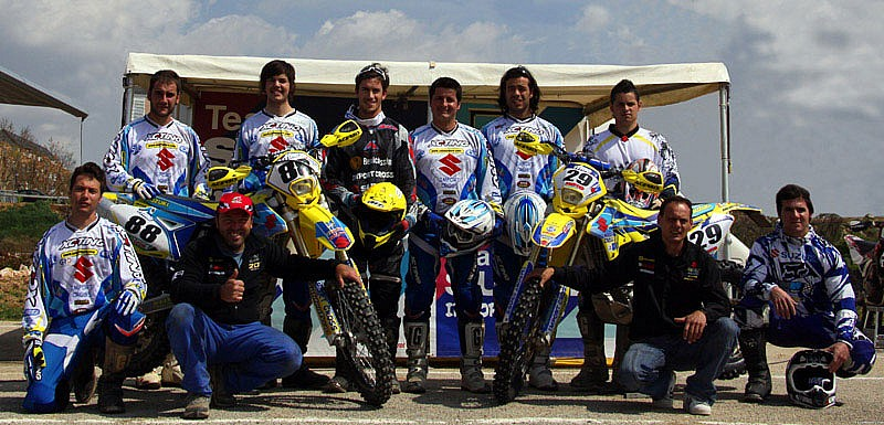 Equipo de Enduro Suzuki Import Cross 2009