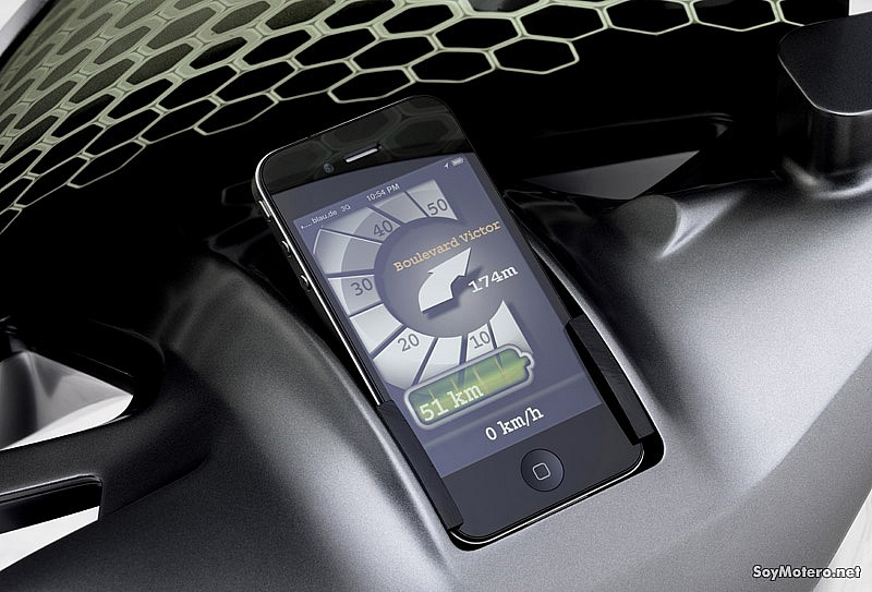 smart escooter - totalmente integrado con iPhone