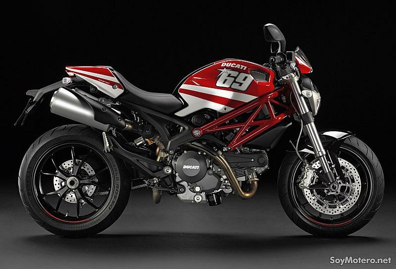 Ducati Monster con kit GP Réplica Hayden