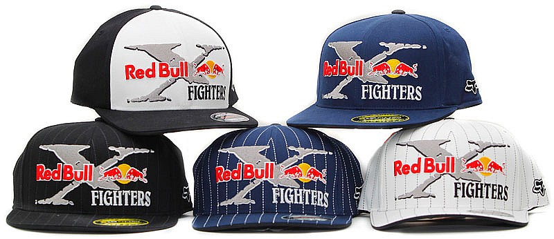 Gorras Red Bull X-Fighters by Fox