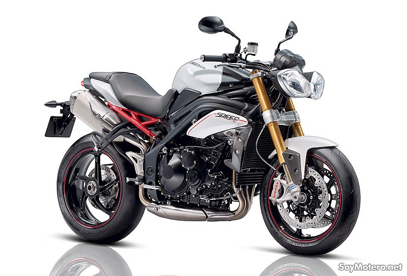 Nueva Speed Triple R 2012: mas carácter racing