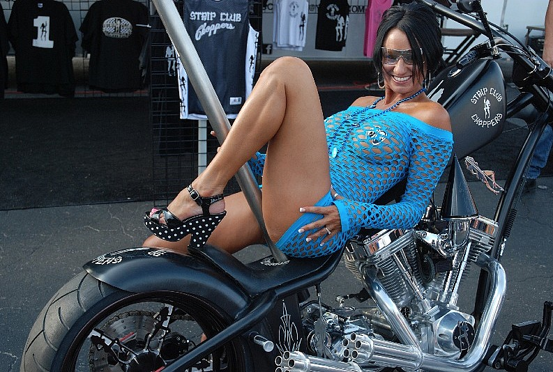 Chicas y motos daytona bike week