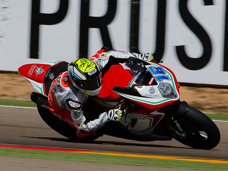 Cluzel ha dominado los libres de Supersport