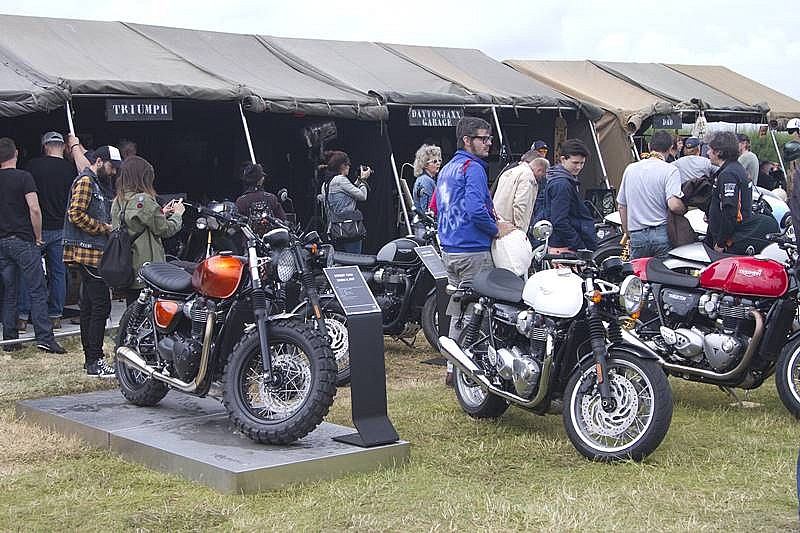 Triumph Wheels & Waves 2016 Stand