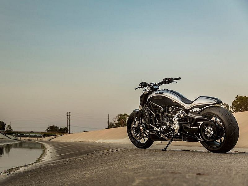 Ducati XDiavel Roland Sands - 3/4 tras